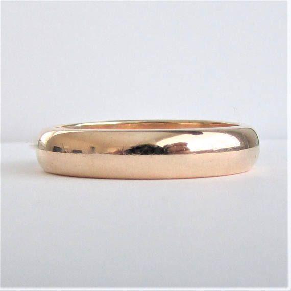 Mens Traub Orange Blossom Wedding Ring 14k Yellow Gold 14k Wedding Rings Wedding Rings Wedding Rings Vintage
