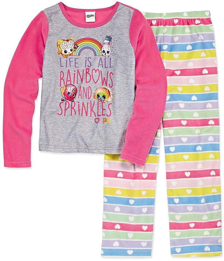 SHOPKINS Shopkins 2-pc. Pant Pajama Set Girls