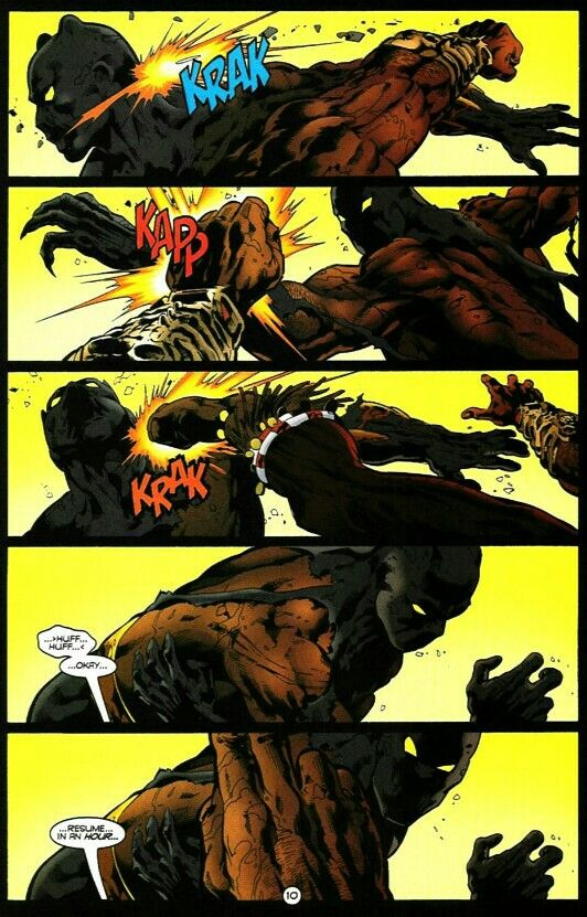 Black Panther Went Ham On Killmonger After This Page In Their