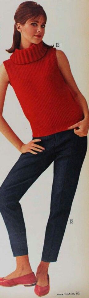 1965 Sears Fall Winter pg95/Colleen Corby