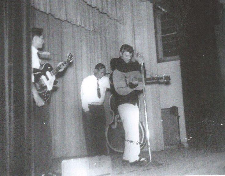 1955. Scotty Moore, Elvis and Bill Black - Elvis never left