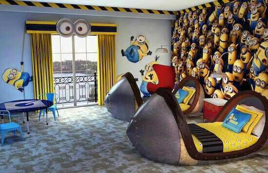 I totally wanna do this room for my little minons!