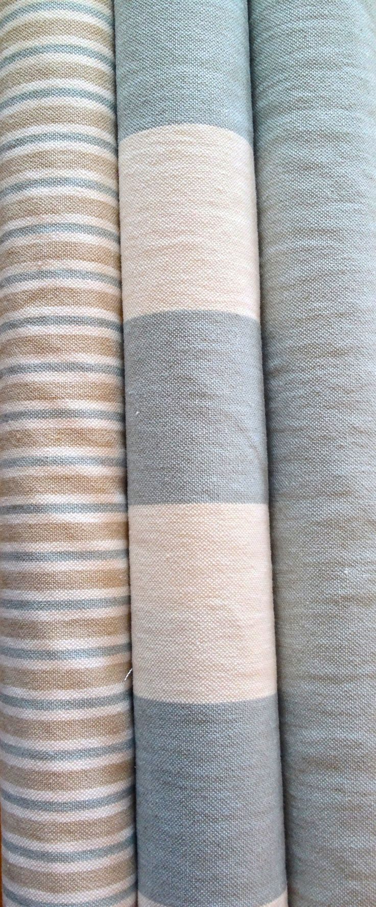 3 fabrics from Clarke Clarke Country Linens.