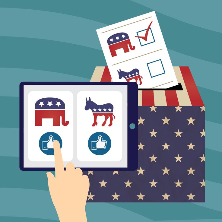 How candidates are using social media for the 2016 US election