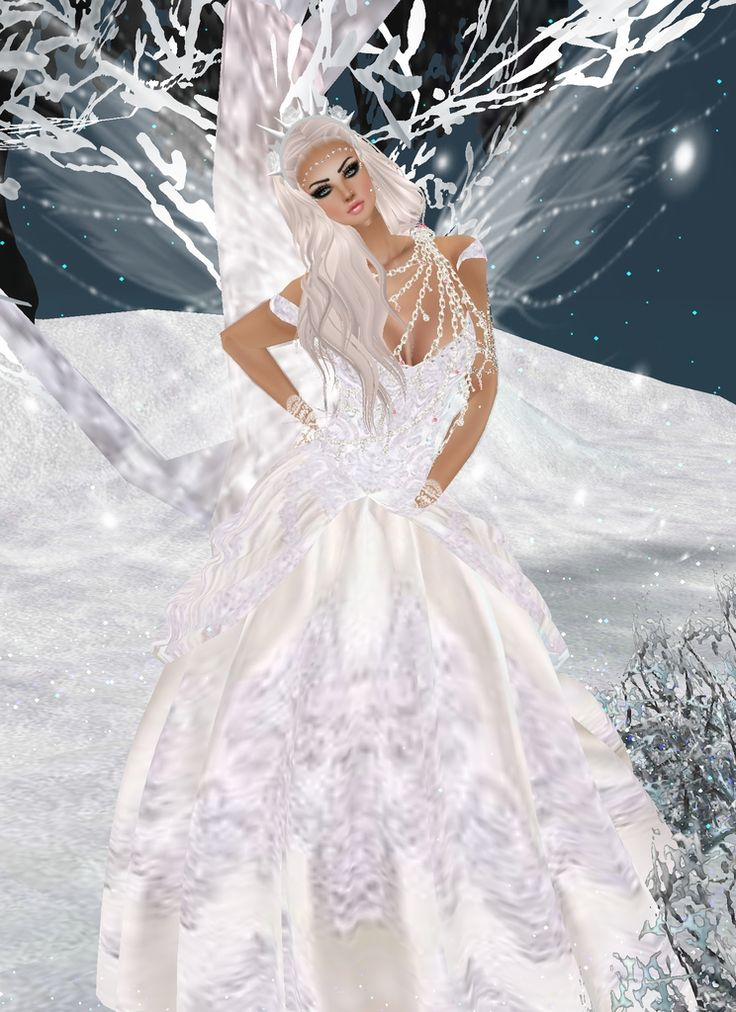 """Ice Princess"" One Of The Many Enchanting Creations Of IMVU A 3D World Where You Can Meet Chat And Create.."