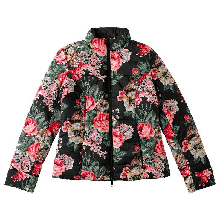 Bloomsbury Bouquet Reversible Short Down Jacket   Cath Kidston  