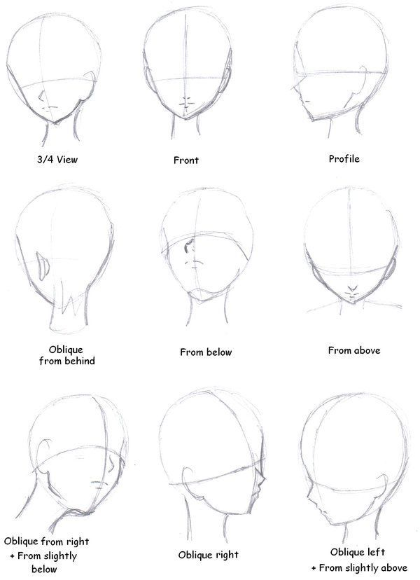 Face Angles. More Artworks And Tutorials: https://www.facebook.com/lapukacom  This artwork does not belong to me! I post it because I find if fascinating. Some of my original art can be found at http://lapuka.com