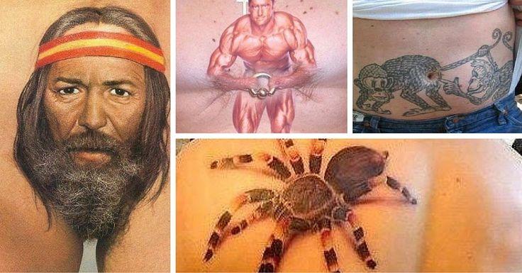 Les pires tatouages ►1 - Les pires tatouages qui vous feront réfléchir à deux fois avant de franchir le pas !  - http://www.le-chuchoteur.fr/les-pires-tatouages-1/