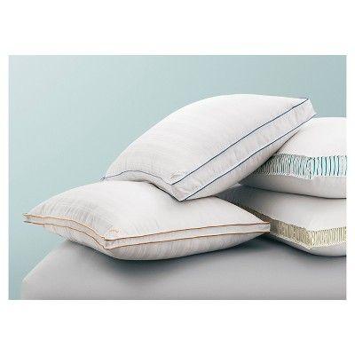 Down Surround Firm/Extra Firm Pillow - White (Standard/Queen) - Fieldcrest, Durable