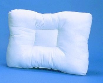 hudson multicore therapeutic support pillow designed with a recessed core to support