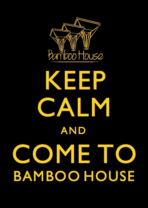 A restaurant named Bamboo House at Tanjung Duren, West Jakarta, Indonesia
