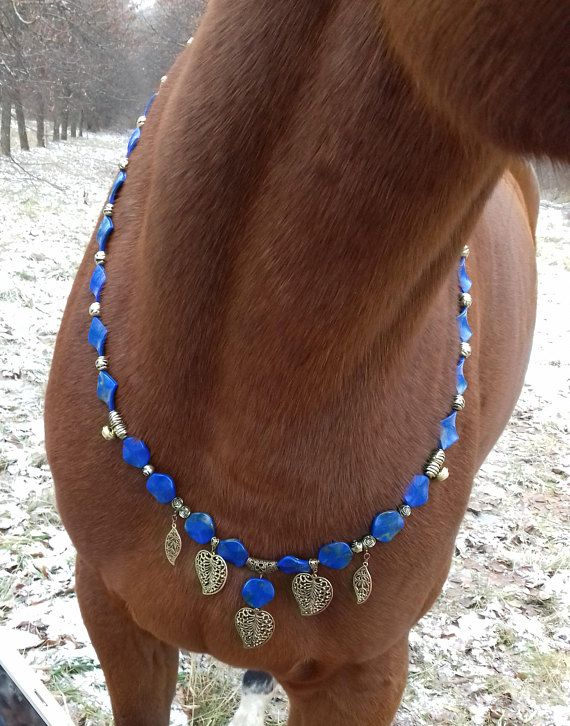 Horse Necklace Rhythm beads tack bling jewellry Pony costume