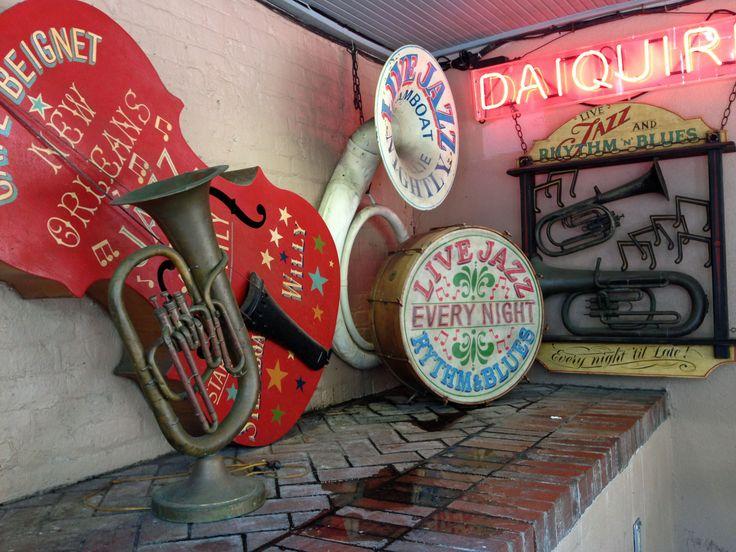 New Orleans, jota yleisesti pidetään jazz-musiikin kotina.