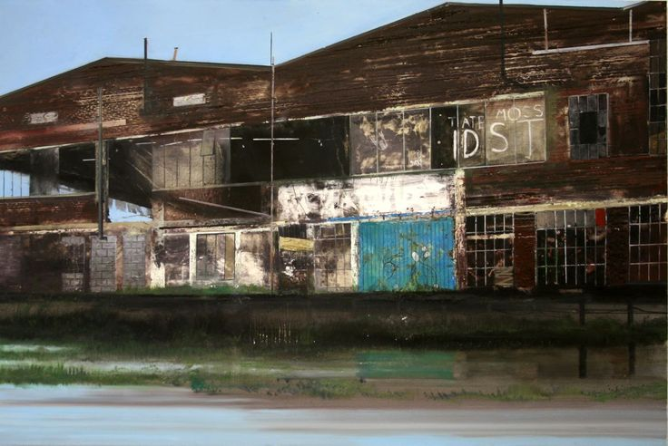 Jock McFadyen 'Tate Moss' oil on canvas 200 x 300 cm