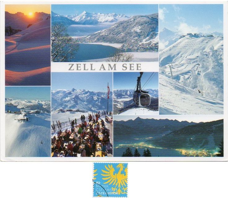 Arrived: 2017.04.03 from one of my dear friend in Hungary.   ---   Zell am See is the administrative capital of the Zell am See District in the Austrian state of Salzburg. The town is an important tourist destination known as Zell am See-Kaprun and is a transportation hub for the region. The Zell Valley is a corridor in the Kitzbühel Alps, connecting the Saalfelden Basin of the Saalach River in the north and the Salzach in the south.