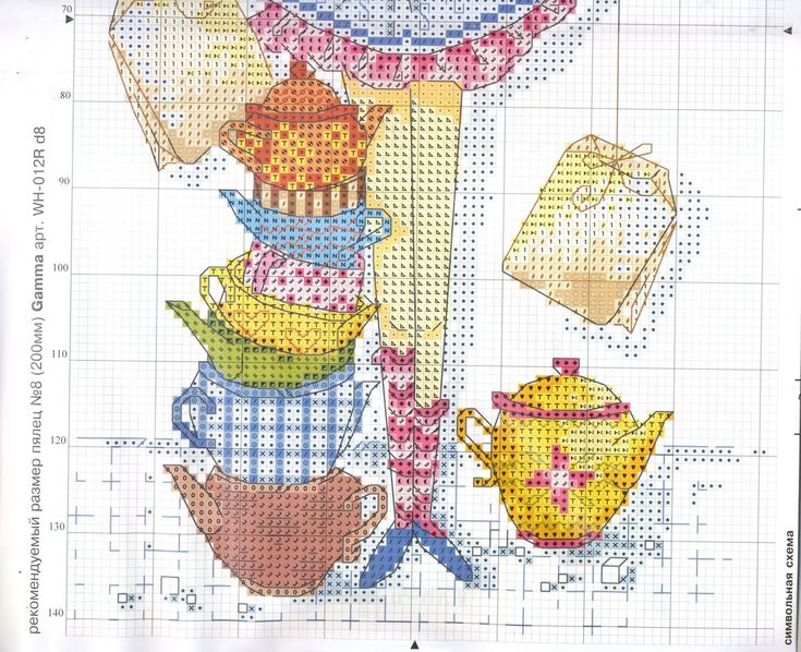 Point, Cross Stitch Schemi,