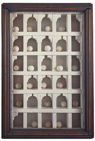 Untitled ('Dovecote' American Gothic) by Joseph Cornell
