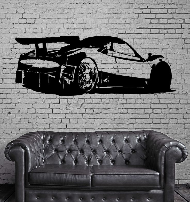 Pagani Zonda R Super Cars Wall Mural Vinyl Art Sticker