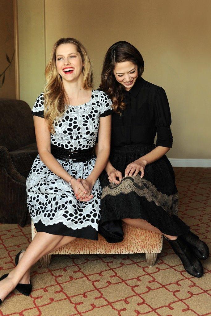 Teresa Palmer and Analeigh Tipton