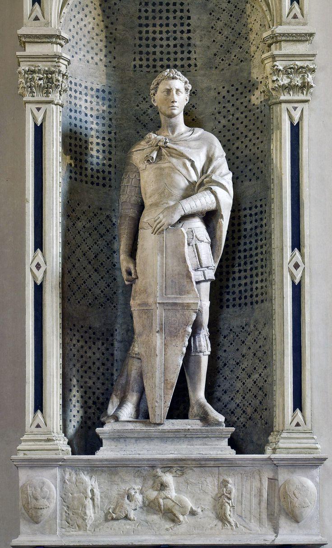 Донателло . Святой Георгий. Ок. 1416 г.