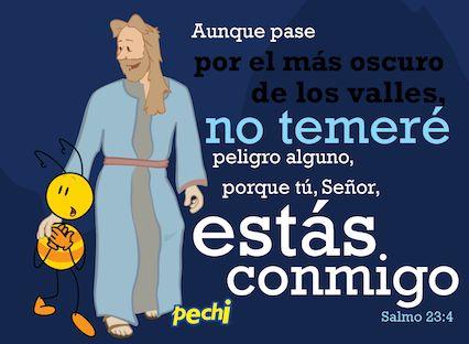 Salmo 23:4 Pechi