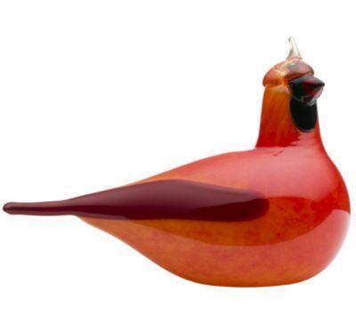 Toikka Bird - Red Cardinal by Iittala