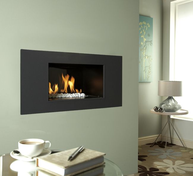 Fire In Wall Part - 45: Verine Atina XL Hole In The Wall Gas Fire