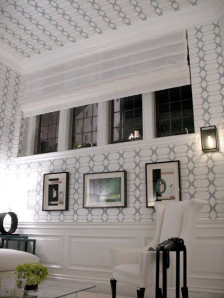 how to put wallpaper on ceiling