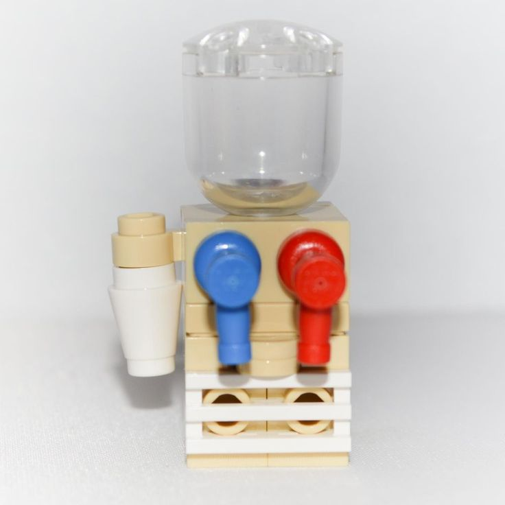 LEGO Furniture: Water Cooler - Home or Office - Custom Design [minifigure,set] #LEGO