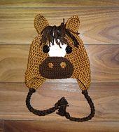 Ravelry: Horse Hat Crochet Pattern pattern by Sheri Wentzell- @Shanna Gossage - I love this face!!