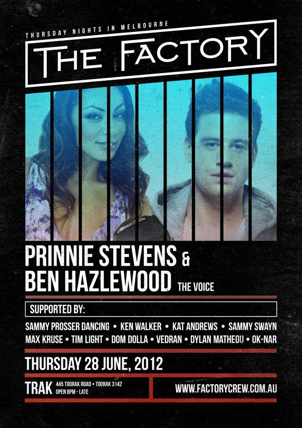 Prinnie Stevens & Ben Hazlewood from The Voice