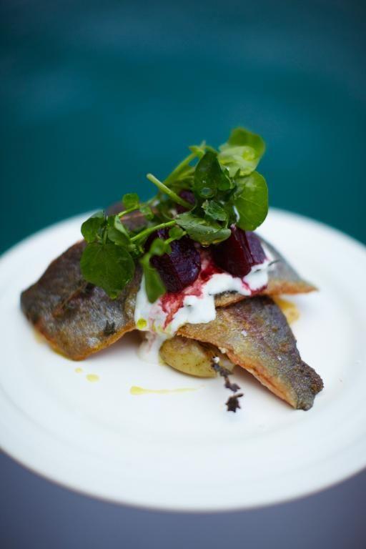 rainbow trout with horseradish yoghurt & balsamic beets | Jamie Oliver | Food | Jamie Oliver (UK)