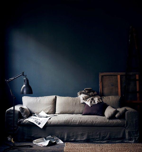 134 best Wohnzimmer images on Pinterest Homemade furniture, House - dunkelblaue kche