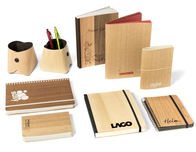 "Arbos recyled wood notebooks ""Wood by wood"" #arbos #recycler #wood"