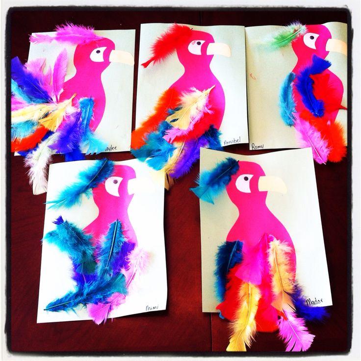 Bricolage Perroquet Carnaval Pinterest Bricolage