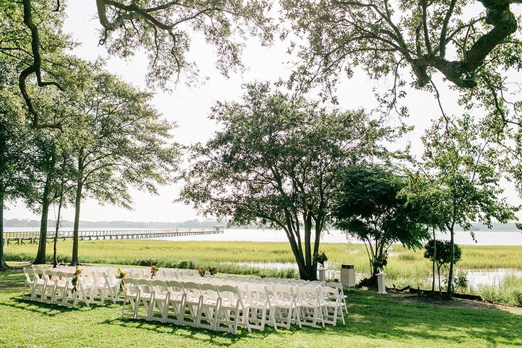Brianna & Matt's riverside wedding at The River House at Lowndes Grove Plantation in Charleston, South Carolina | Photo by Riverland Studios