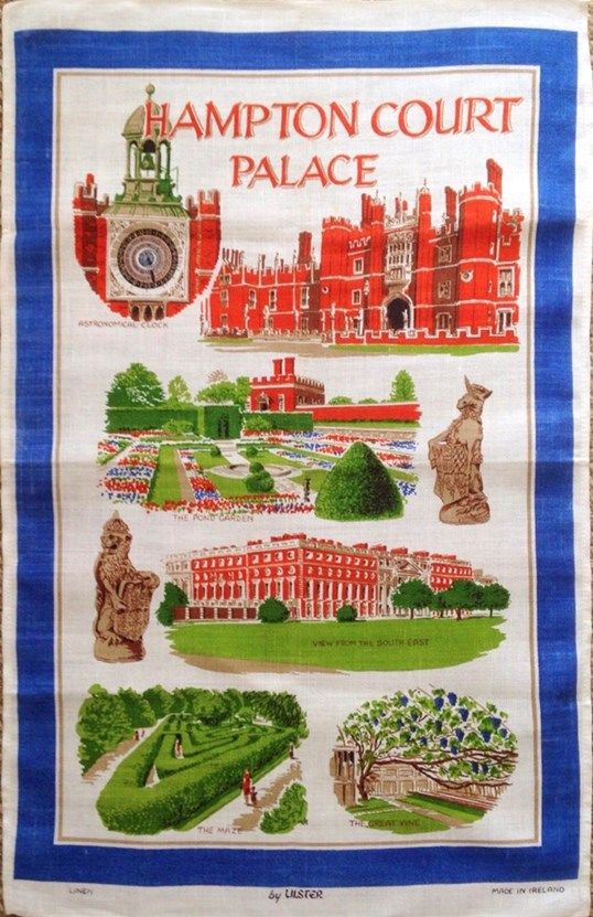 Hampton Court Palace Tea Towel