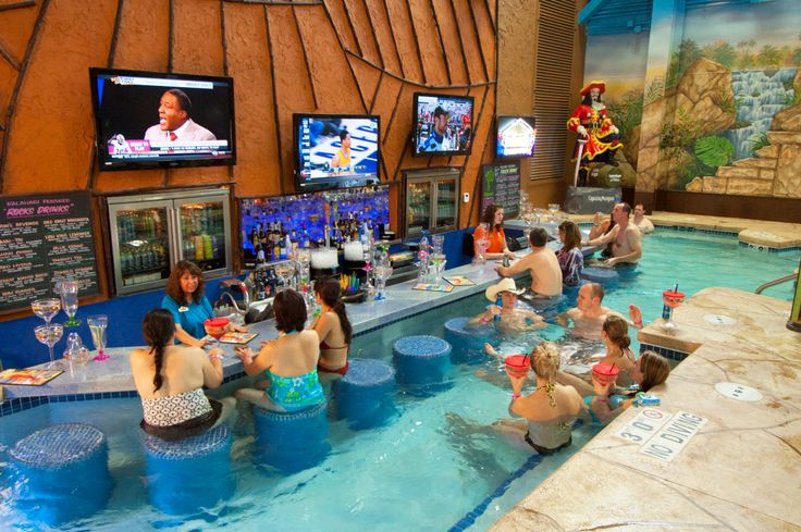 Spend A Little Time With A Cold One At Our Swim Up Bars