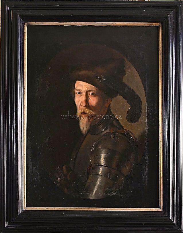 Paulus l. - Rytíř - olej,plátno - okolo 1800 - 87x70