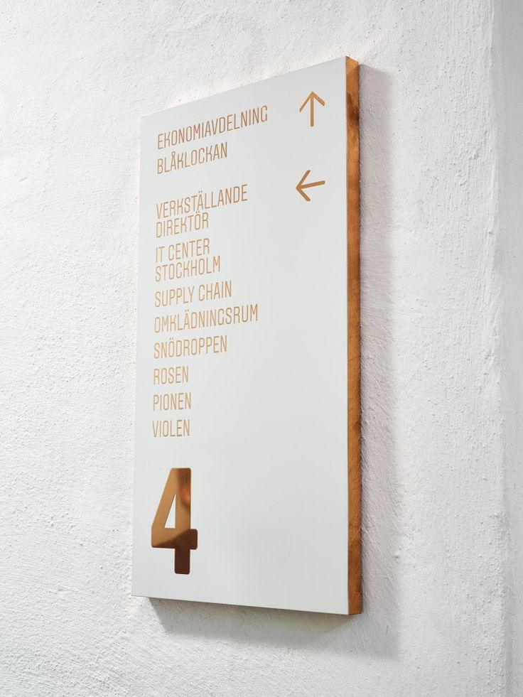 Bryggeriet signage system - The Kitchen Sthlm