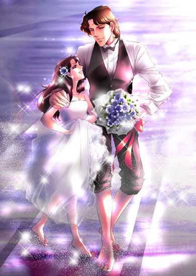 They are married now, I wish they were in the anime though :(  Masumi and Maya