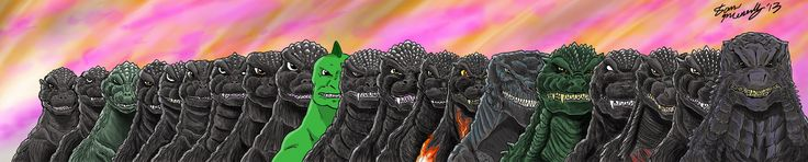 Godzilla 2014 Deviant Art Selection