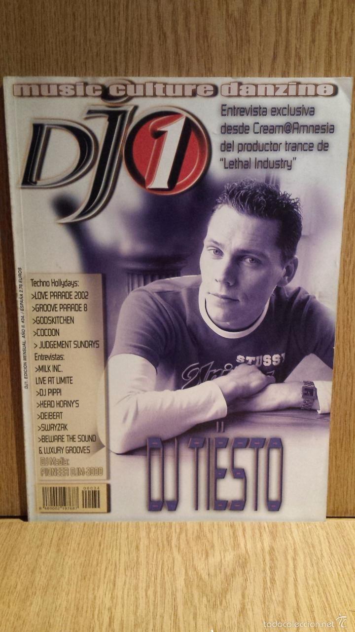 REVISTA DJ 1 - Nº 34. DJ TIESTO / ENTREVISTAS VARIAS.