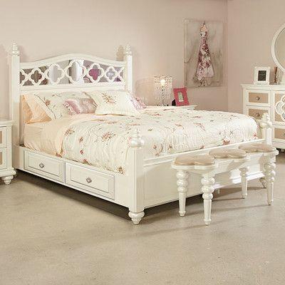 Najarian Furniture Paris Panel Bed