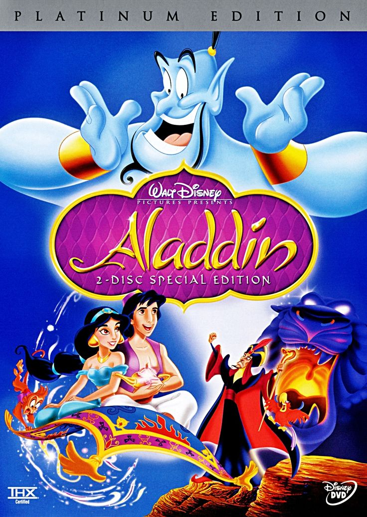 Aladdin DVD. Look on amazon.