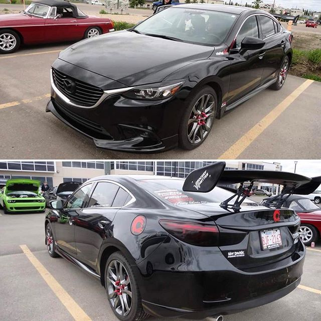 From Canada . Owner @rhayn1519 . What you think about this boening wing? . Что вы думаете об этом крыле от Боинга?✌️ . ——————————————————— MAZDA 6  Body Kit by @mv_tuning  Website: MV-TUNING.ru  ——————————————————— #MVTUNING #Mazda6 #アテンザ #atenza #tuningmazda #мазда #мазда6 #Mazda #drive2 #тюнингмазда #mazdaclub #mazdacollective #fitment #atenza #mazda62015 #mymazda #mazdafitment #mazdamovement #mazdaonstyle #mazdaworld #mazdausa #mazda6club