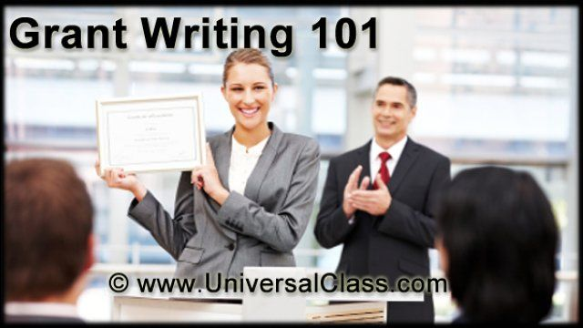 Online Course: Grant Writing 101