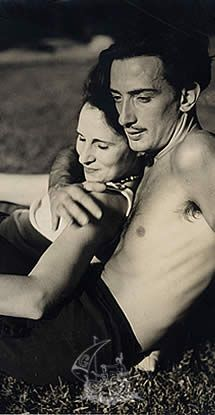 Gala et Salvador Dalí
