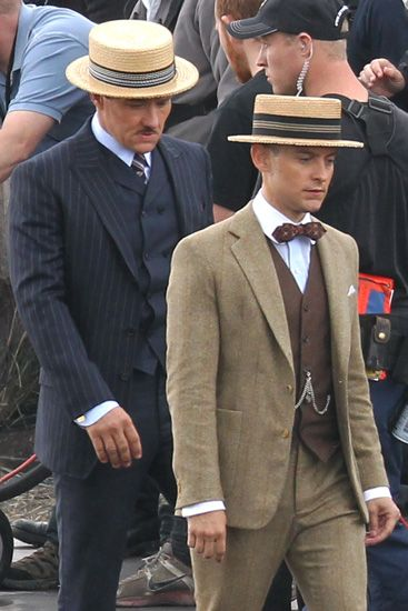 The Men Of The Great Gatsby Will Be Dressed By Brooks
