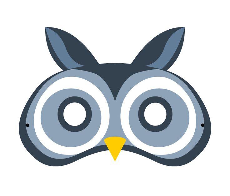 #Lactease ti regala gli animali del bosco!  Stampa e ritaglia il GUFO! :-) --->  http://ow.ly/Jk0GL  #maschera #carnevale